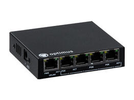 Коммутатор PoE Optimus UM1-E5/4P mini